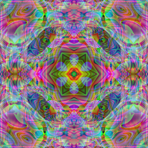 Into the Kaleido by Queen Peyote