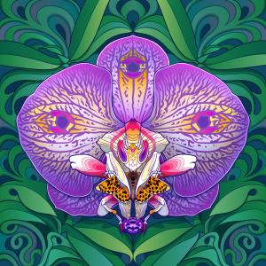 Orchid Mantis Queen by Firecat