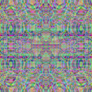 Rainbow Ripples by Queen Peyote
